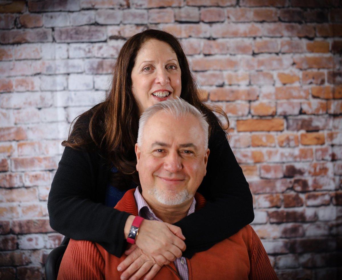Karen and Tom Mantzouranis